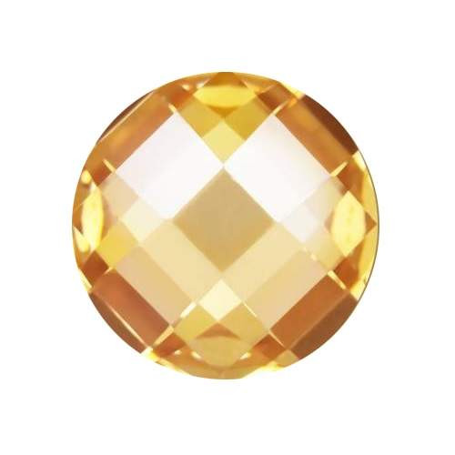 Cubic Zirconia - Irregular - Yellow (TU)