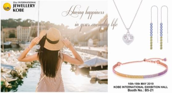 The 23th Japan,Kobe International Jewelery 16 May. - 18 May. 2019