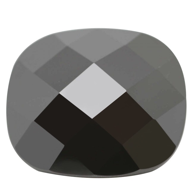 Cubic Zirconia - Irregular - Black (TU)